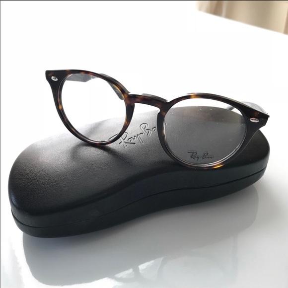 f3bbd85171 Ray-Ban Round Tortoise Optical Frames